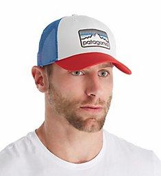 Patagonia Line Logo Badge LoPro 100% Organic Trucker Hat 38181