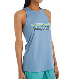 Patagonia Pastel P6 Logo Organic Cotton High Neck Tank 38552