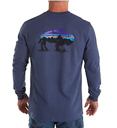 Patagonia Fitz Roy Bison Long Sleeve Responsibility Shirt 38828