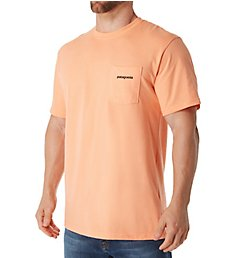 Patagonia P-6 Pocket Logo 100% Organic Cotton T-Shirt 38910