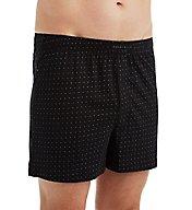 Perry Ellis Cotton Knit Mini Dot Print Boxer Short 850807