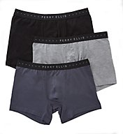 Perry Ellis Portfolio Cotton Stretch Boxer Briefs - 3 Pack 960560