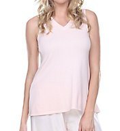 PJ Harlow Knit V-Neck Swing Tank Cindy