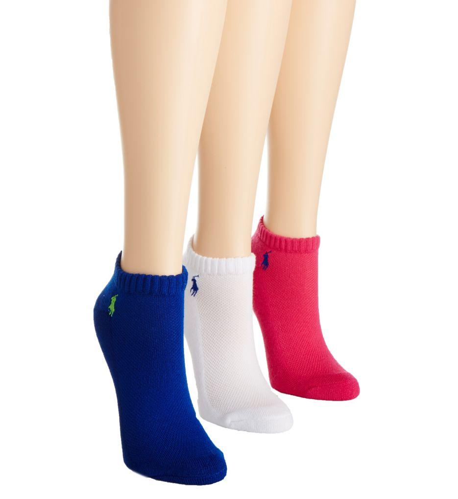 Polo Ralph Lauren Blue Label RL Sport Cushion Foot Sock - 3 Pair Pack 7370