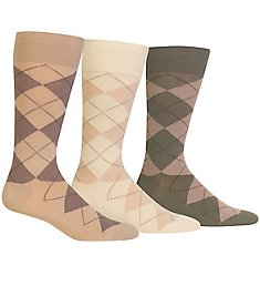 Polo Ralph Lauren Classic Argyle Cotton Socks - 3 Pack 8091PK