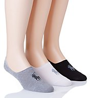 Polo Ralph Lauren No Show Liner With Arch Support - 3 Pack 8273PK
