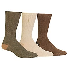 Polo Ralph Lauren Supersoft Ragg Crew Sock - 3 Pack 8491PK