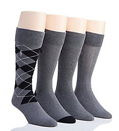 Polo Ralph Lauren Classic Flat Knit Crew Socks - 4 Pack 8667PK