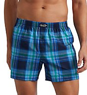 Polo Ralph Lauren 100% Cotton Classic Plaid Woven Boxer L104HR