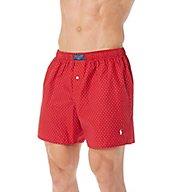 Polo Ralph Lauren 100% Cotton Polka Dot Print Woven Boxer L110SR