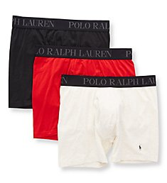 Polo Ralph Lauren 4D-Flex Lightweight Boxer Briefs - 3 Pack LABBP3