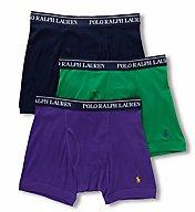 Polo Ralph Lauren Classic Fit 100% Cotton Boxer Briefs - 3 Pack LCBBP3