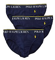 Polo Ralph Lauren Stretch Cotton Jersey Briefs - 3 Pack LEBFP3