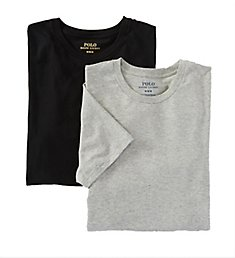 Polo Ralph Lauren Stretch Cotton Jersey Crew Neck T-Shirts - 2 Pack LECNP2