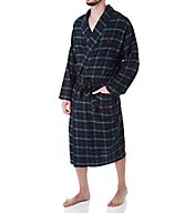 Polo Ralph Lauren Flannel 100% Cotton Plaid Pajama Robe P001HR