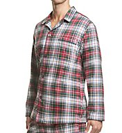 Polo Ralph Lauren Flannel 100% Cotton Plaid Pajama Top P003HR