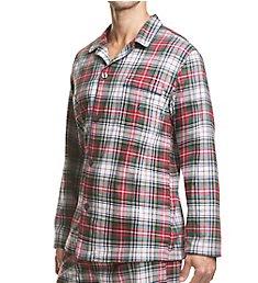 Polo Ralph Lauren Flannel 100% Cotton Plaid Pajama Top P003HR