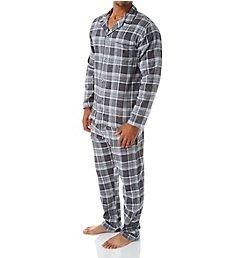 Polo Ralph Lauren Flannel Button Down Pajama Set P01HF2