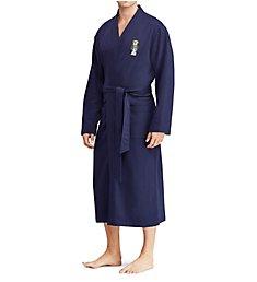 Polo Ralph Lauren Fleece Kimono Polo Bear Robe P295RL