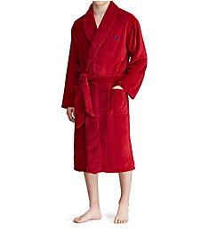 Polo Ralph Lauren Microfiber Shawl Collar Plush Robe P297RL