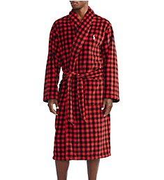 Polo Ralph Lauren Microfiber Shawl Collar Plush Robe P297RL