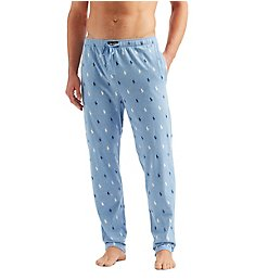 Polo Ralph Lauren Pony Player Print Classic Pajama Pant PK04HR