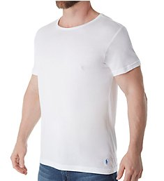 Polo Ralph Lauren Cotton Modal Slim Fit Wide Neck Crew T-Shirt PK06SR