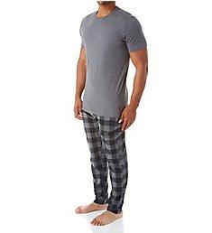 Polo Ralph Lauren Knit Short Sleeve Crew & Pajama Pant Set PK4HF2