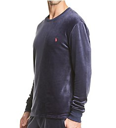 Polo Ralph Lauren Plush Velour Long Sleeve Crew PP32HR