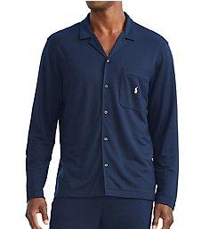Polo Ralph Lauren Mini Terry Long Sleeve Pajama Shirt PP41HR