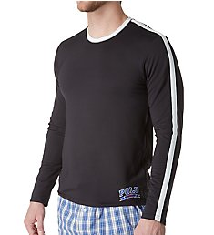 Polo Ralph Lauren Tech Therma Sleep Long Sleeve Crew Shirt PTLSRL