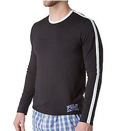 Polo Ralph Lauren Tech Therma Sleep Long Sleeve Crew Shirt PTLSRL