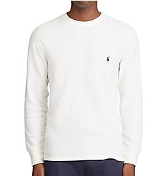 Polo Ralph Lauren Big Man Midweight Long Sleeve Waffle Crew PWLCRX