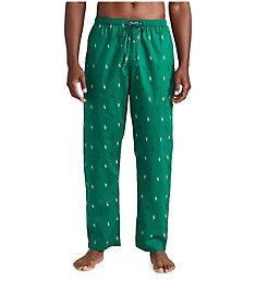 Polo Ralph Lauren Pony Player 100% Cotton Woven Pajama Pant R082HR