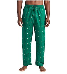 Polo Ralph Lauren Pony Player 100% Cotton Woven Pajama Pant R082HR