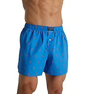 Polo Ralph Lauren Printed Polo Player 100% Cotton Woven Boxer R382RL