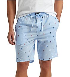 Polo Ralph Lauren Pony Player 100% Cotton Woven Sleep Short R882RL