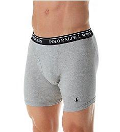Polo Ralph Lauren Classic Fit 100% Cotton Boxer Briefs - 5 Pack RCBBP5