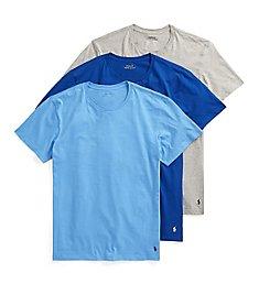 Polo Ralph Lauren Classic Fit 100% Cotton Crew T-Shirts - 3 Pack RCCNP3