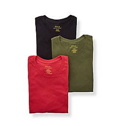 Polo Ralph Lauren Classic Fit Cotton Crew Neck T-Shirts - 3 Pack RCCNS3
