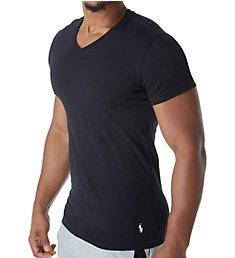 Polo Ralph Lauren Slim Fit 100% Cotton V Neck T-Shirts - 3 Pack RSVNP3