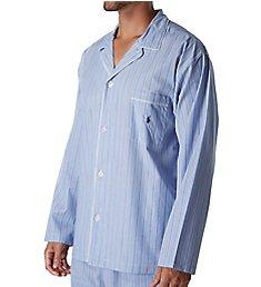 Polo Ralph Lauren Big Man Woven Cotton Long Sleeve Pajama Top RY25RX