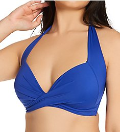 Pour Moi Soleil Twist Front Lightly Padded Swim Top 182260