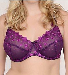 QT Eva Embroidered Lace Bra 55888