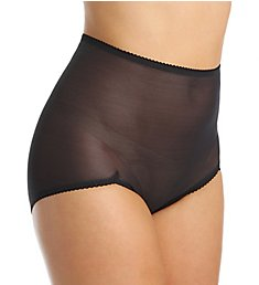 Rago Power Lites Sheer Shaping V Leg Brief Panty 40