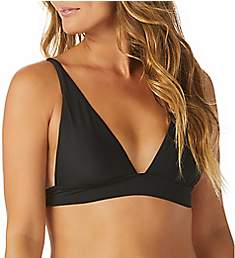 Raisins Samba Solids Miami Triangle Bikini Swim Top A710069