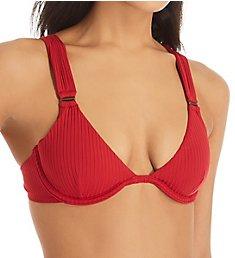 Red Carter Ease Of Eden Kenya Underwire Bikini Swim Top 120624