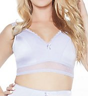 Rhonda Shear Retro Pin-Up Wireless Bra with Removable Pads 676