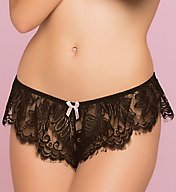 Seven 'til Midnight Eyelash Lace Boxer Panty 10761