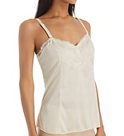 Shadowline Plus Size Lace Trim Camisole 4903